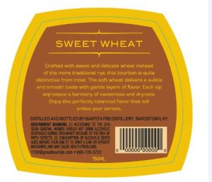 Sweet Wheat Back