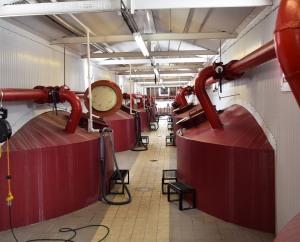 Indoor/Outdoor fermentation tanks