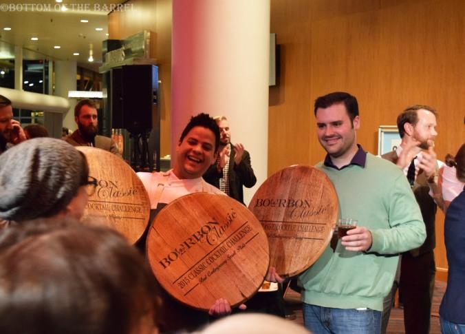 Contemporary Winners,  Chef Jacob Coronado and Isaac Fox