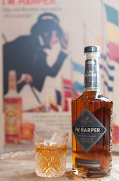 21951ca28b9 I.W. Harper Kentucky Straight Bourbon Whiskey. Harper by Group Photo  Courtesy of Taylor Strategy