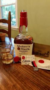 Darren is officially a Maker's Mark Ambassador!