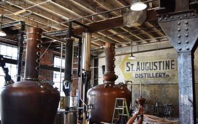 Copper stills from Vendome in Louisville